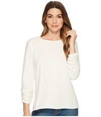 Jag Jeans Taylor Pullover Shirt Swan Clothing White