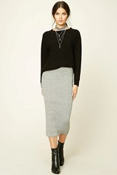 Forever 21 Contemporary Sweater Midi Skirt