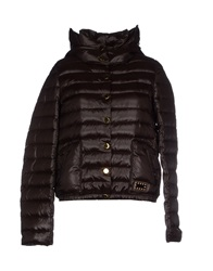 G.Sel Down Jackets Dark Brown