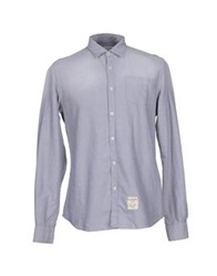 Fred Mello Shirts Light Grey