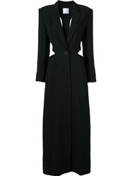 Christopher Esber Long Coat Black