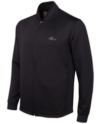 Greg Norman For Tasso Elba Men's Big And Tall Hydrotech Jacket Only At Macy's Deep Black