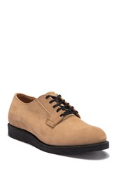 Red Wing Shoes Postman Suede Derby Sand