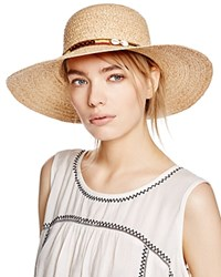 Dorfman Pacific Floppy Hat Natural