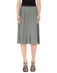Siyu Skirts 3 4 Length Skirts Women Green