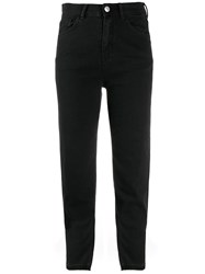 Haikure Slim Fit Jeans Black