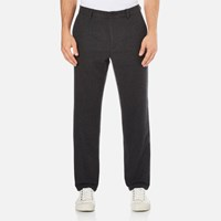 Gant Rugger Men's Woolly Pants Charcoal Melange Grey