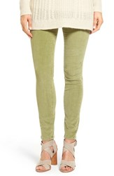 Jag Jeans Women's Nora Pull On Stretch Skinny Corduroy Pants Artichoke