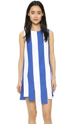 Elle Sasson Bonnie Dress Blue White Stripe