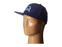 Cinch Flat Bill High Profile Navy Caps