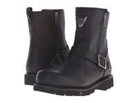 Harley Davidson Flagstone Black Men's Zip Boots