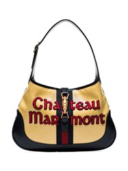 Gucci Chateau Marmont Hobo Bag Yellow