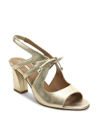 Tahari Night Leather Sandals
