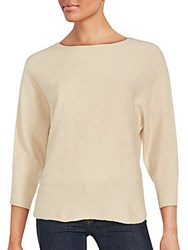 Zadig And Voltaire Banko Long Sleeve Sweater Ecru