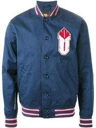 Undefeated 'Ambush' Varsity Jacket Blue