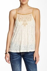 Miss Me Knit Camisole White