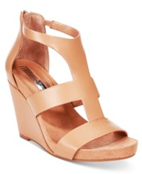 Inc International Concepts Women's Lilibeth Wedge Sandals Only At Macy's Women's Shoes Classic Tan