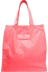 Adidas By Stella Mccartney Neon Coated Shell Tote Pink