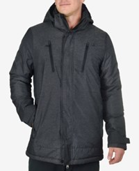 Champion Men's Big And Tall Active Hooded Jacket Black