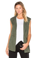 Cupcakes And Cashmere Adison Vest Army
