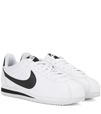 Nike Classic Cortez Leather Sneakers White