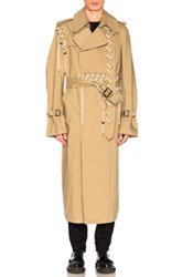 Craig Green Laced Trench In Neutrals