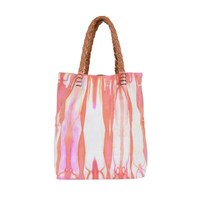 Kin Lab Collective Leather Tie Dye Small Tote