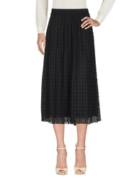 Selected Femme 3 4 Length Skirts Black