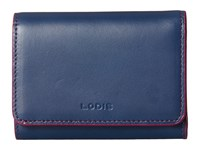 Lodis Audrey Mallory French Purse Indigo Plum Wallet Handbags Blue