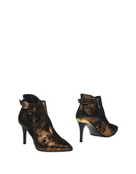 Fabi Ankle Boots Bronze