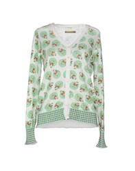 Red Soul Knitwear Cardigans Women Light Green