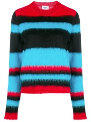 Dondup Striped Sweater Blue