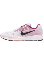 Nike Performance Air Zoom Structure 20 Stabilty Running Shoes White Black True Berry Sunset