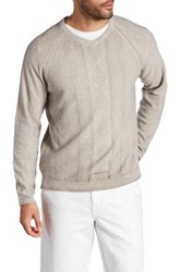 Tommy Bahama Riviera Sands V Neck Sweater Brown
