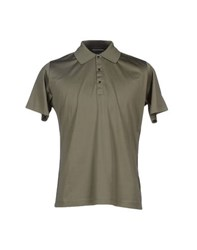 Karl Lagerfeld Lagerfeld Topwear Polo Shirts Men Military Green