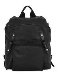 Lanvin Tumbled Leather Backpack