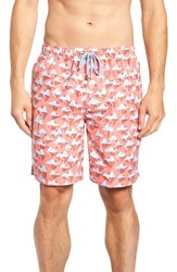 Peter Millar Polar Plunge Swim Trunks Blue