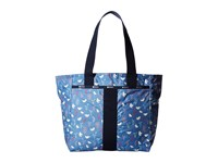 Le Sport Sac Everyday Tote Song Birds Blue Tote Handbags Multi