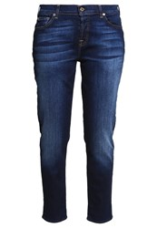 7 For All Mankind Josefina Relaxed Fit Jeans New York Dark Dark Blue