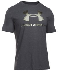 Under Armour Men's Sportstyle Logo T Shirt Black Iridescent Foil
