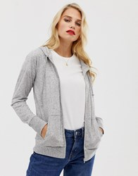 French Connection Hetty Zip Hoodie Grey