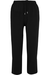 See By Chloe Crepe Tapered Pants Black