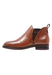 Gant Avery Ankle Boots Cognac