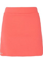 L'etoile Sport Textured Stretch Jersey Tennis Skirt
