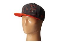Dc Double Up Hat Pewter Orange Baseball Caps