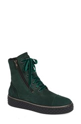 Cycleur De Luxe Anton Bootie Bottle Green Leather