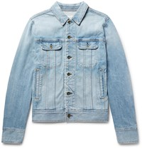 Rag And Bone Faded Denim Jacket Blue