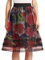 Phoebe Couture Organza Floral Skirt