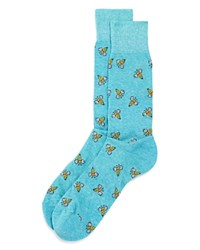 Bloomingdale's The Store At Bees Socks 100 Exclusive Light Blue