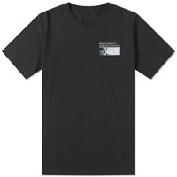Unravel Project Concrete Logo Printed Tee Black